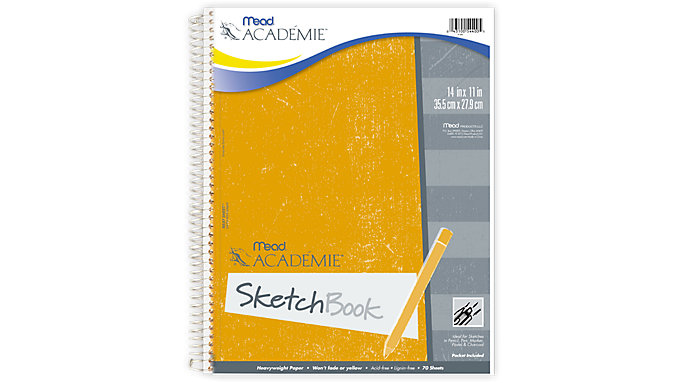 Mead Academie Wirebound Sketch Diary  (54400)