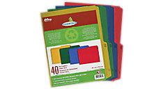 Enviro Plus Colored Recycled File Folders (Item # 55070)
