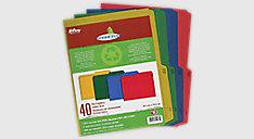 Enviro Plus Colored Recycled File Folders (Item # 55070)