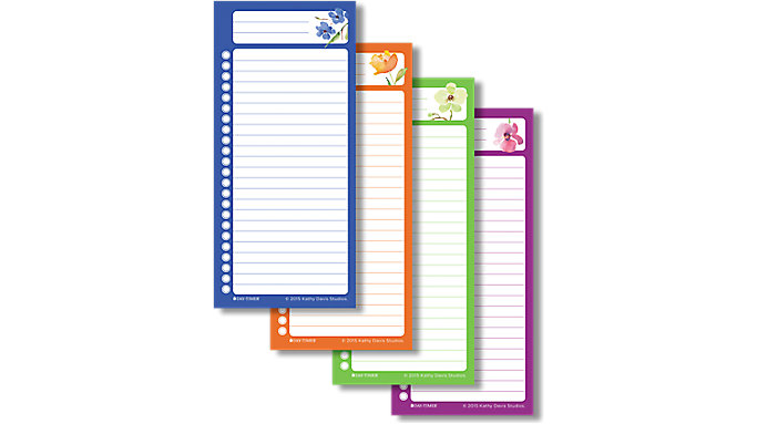 Day-Timer Kathy Davis Self-Stick Hot Lists  (58101)