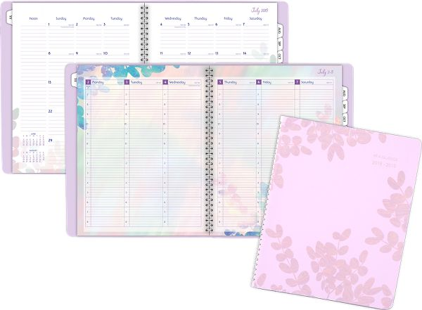 At-A-Glance Aura Blooms Academic Weekly-Monthly Appointment Book - Academic Planning