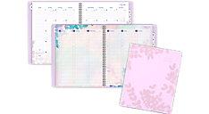 Aura Blooms Academic Weekly-Monthly Appointment Book (Item # 585-905A)