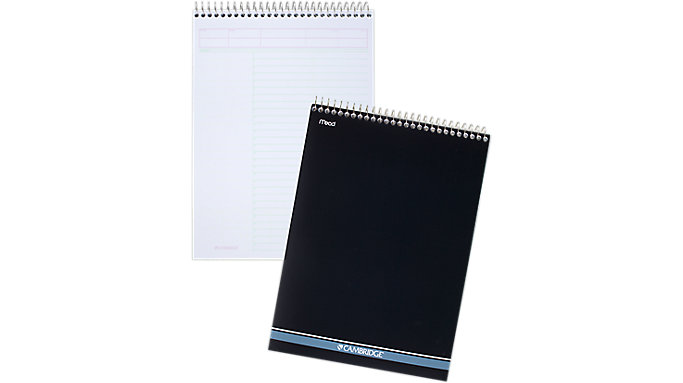 Mead Cambridge Action Planner Wirebound Notebook  (59008)