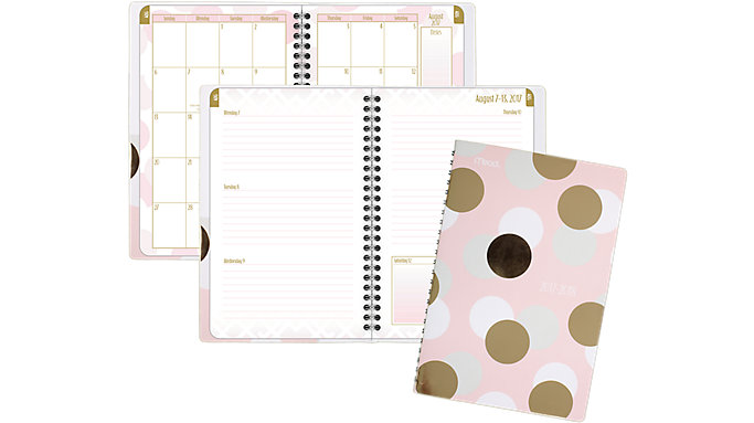 Mead Shape It Up Academic Weekly-Monthly Student Planner  (602048)