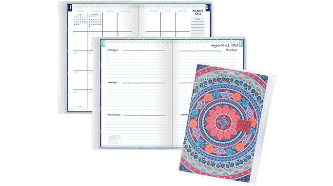 Mead PRETTY Please Weekly-Monthly Student Planner  (602142)