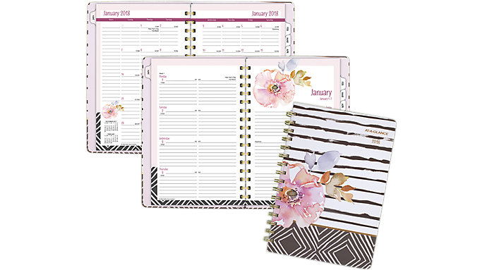 AT-A-GLANCE Kathy Davis Weekly-Monthly Planner  (6035-200)