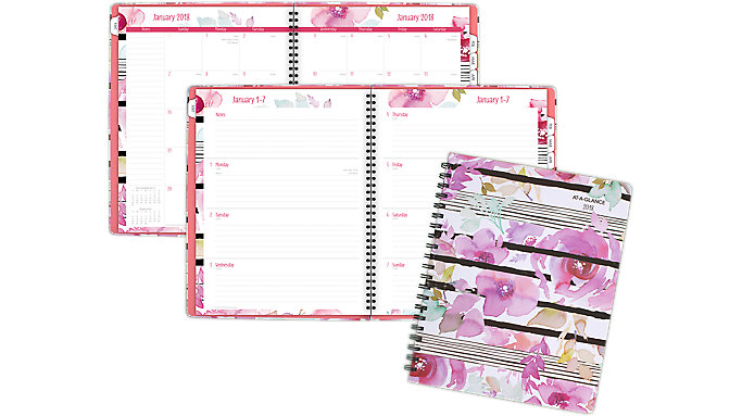 AT-A-GLANCE Kathy Davis Weekly-Monthly Planner  (6035-905)