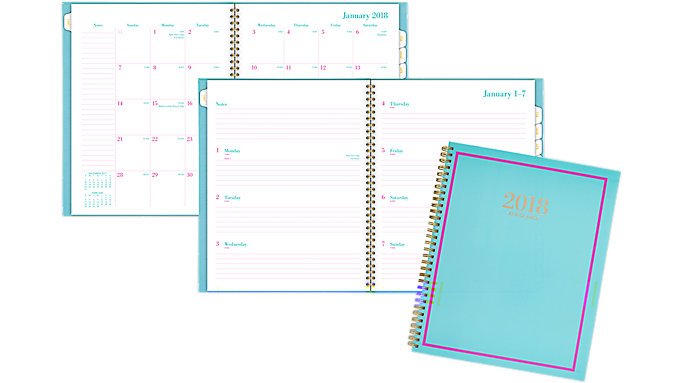 AT-A-GLANCE Color Crush Weekly-Monthly Planner  (6046-905)