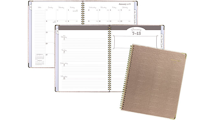 AT-A-GLANCE Pearl Weekly-Monthly Planner  (6080-905)