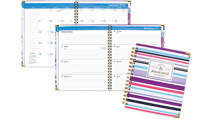 AT-A-GLANCE Badge Weekly-Monthly Planner  (6082-805)