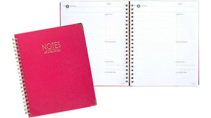 AT-A-GLANCE Harmony Hardcover Notebook  (6099-407-27)