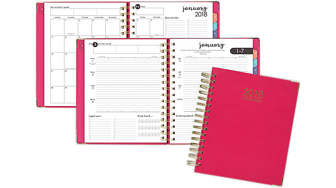 AT-A-GLANCE Harmony Hardcover Weekly-Monthly Planner  (6099-805)
