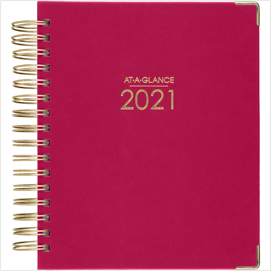 Harmony Hardcover Daily-Monthly Planner | 6099-806 | AT-A-GLANCE