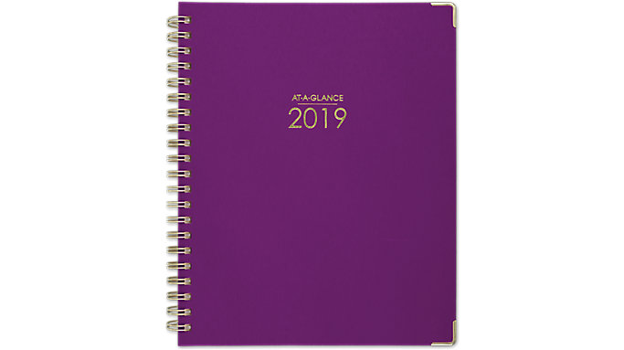 AT-A-GLANCE Harmony Hardcover Weekly-Monthly Planner  (6099-905)