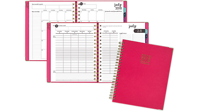 AT-A-GLANCE Harmony Academic Weekly-Monthly Planner  (6099-905A)