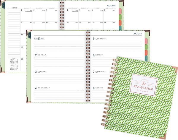 At-A-Glance Badge Academic Weekly-Monthly Planner - Planners