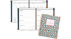 Badge Academic Weekly-Monthly Planner (Item # 6124T-805A)