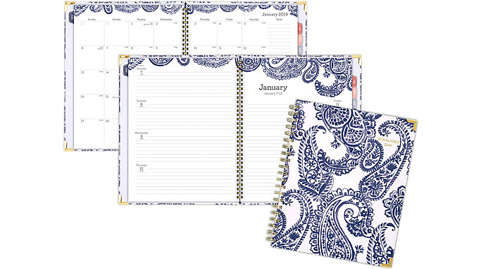 AT-A-GLANCE Paige Weekly-Monthly Planner  (6141-905)