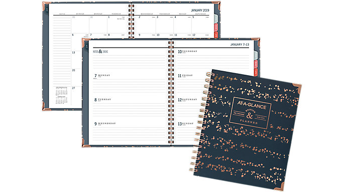 AT-A-GLANCE Badge Weekly-Monthly Planner  (6148-805)