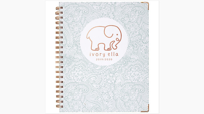 752df54c8 Ivory Ella Cambridge Academic Weekly-Monthly Hardcover Large Planner  (6204-905A)