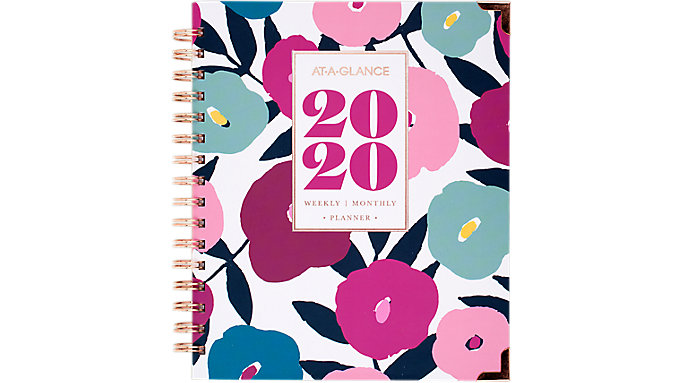 AT-A-GLANCE BADGE Weekly-Monthly Hardcover Planner  (6282-805)