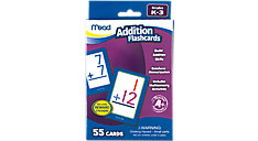 Addition Flashcards Grades K-3 (Item # 63034)