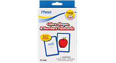 Color Shapes and Numbers Flashcards Grades PK-1 (Item # 63126)