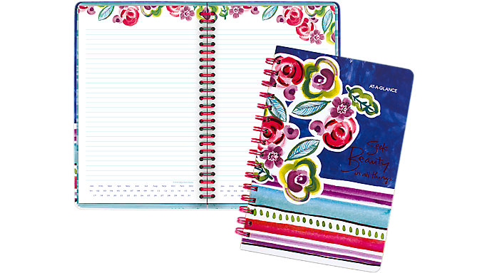 AT-A-GLANCE Kathy Davis Circle the Date Notebook  (635-404)