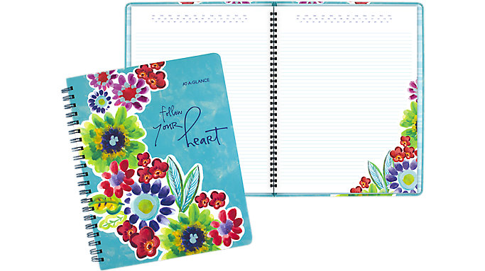 AT-A-GLANCE Kathy Davis Circle the Date Notebook  (635-405)