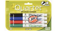 Low Odor Dry Erase Markers Bullet Tip (Item # 659504QA)