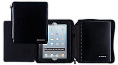 Cambridge Business Notebook and Deluxe Black Case for iPad (Item # 67135)