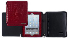 Business Notebook and Deluxe Red Case for iPad (Item # 67136)