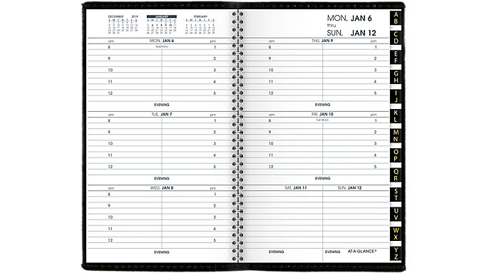 AT-A-GLANCE Refillable Weekly Appointment Book  (70008)