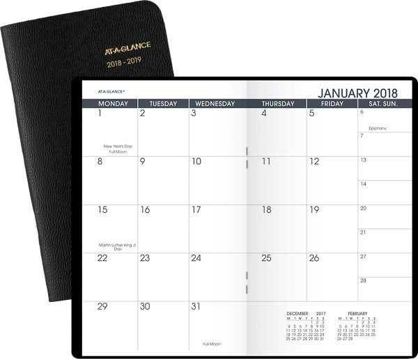 At-A-Glance 2-Year Monthly Pocket Planner - Pocket Planners