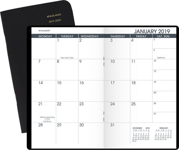 At-A-Glance 2-Year Monthly Pocket Planner -