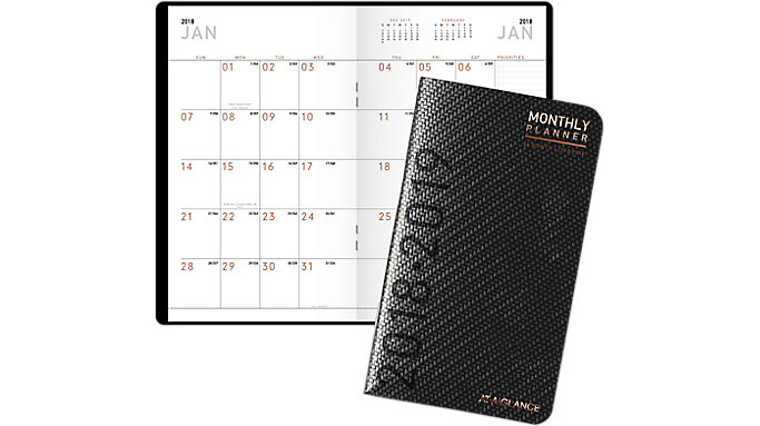 AT-A-GLANCE Contempo 2-Year Pocket Monthly Planner  (70024X)