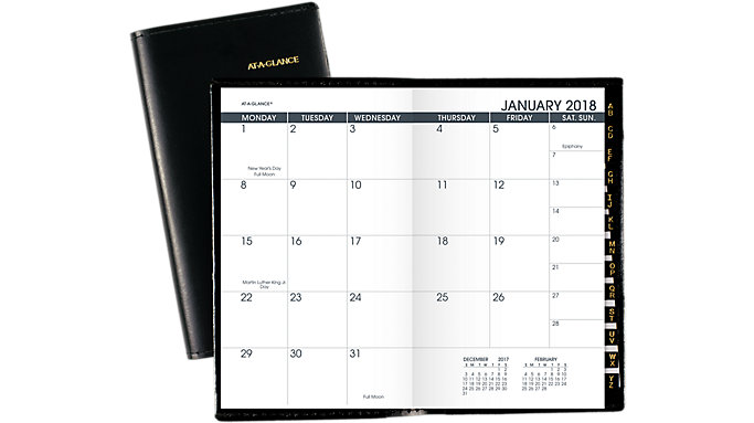 AT-A-GLANCE Monthly Pocket Planner  (70064)