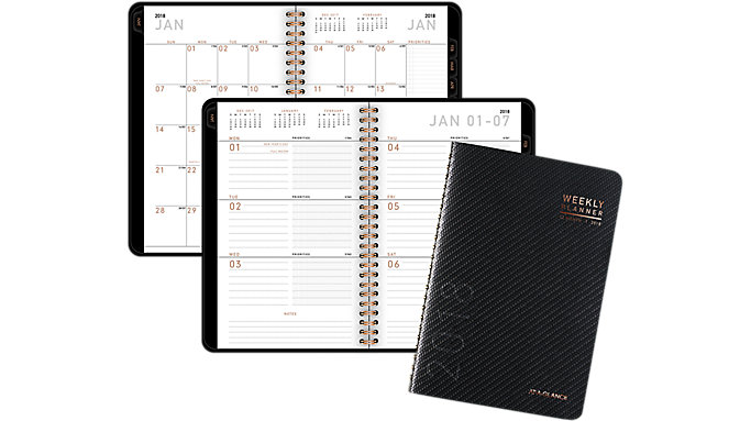 AT-A-GLANCE Contempo Weekly-Monthly Planner  (70100X)