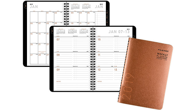 AT-A-GLANCE Contemporary Weekly-Monthly Planner  (70100X)