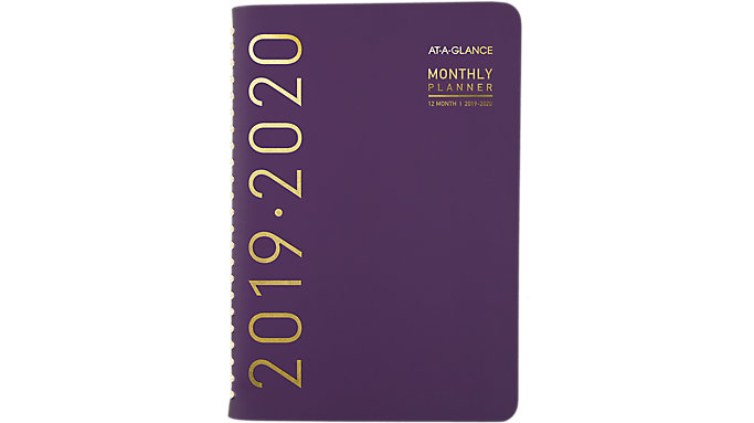 AT-A-GLANCE Contempo Academic Weekly-Monthly Planner  (70101X)