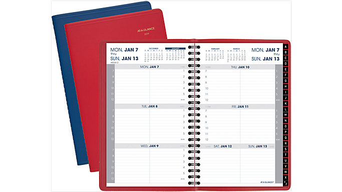 AT-A-GLANCE Fashion Weekly Appointment Book  (70108)