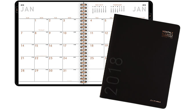 AT-A-GLANCE Contempo Monthly Planner  (70120X)