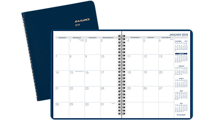 AT-A-GLANCE Fashion Monthly Planner  (70124)