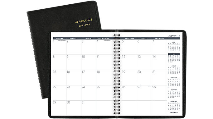 AT-A-GLANCE Medium Academic Monthly Planner  (70127)