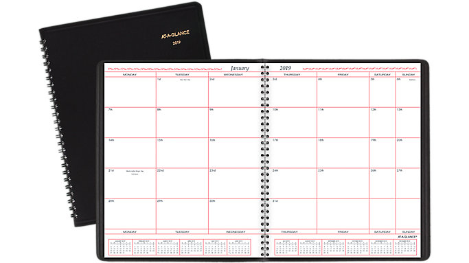 AT-A-GLANCE Monthly Planner  (70130)