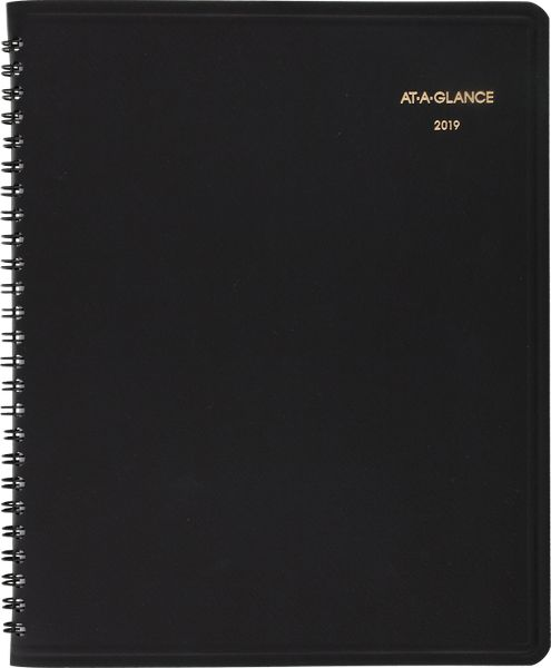 At-A-Glance 24-Hour Daily Appointment Book -