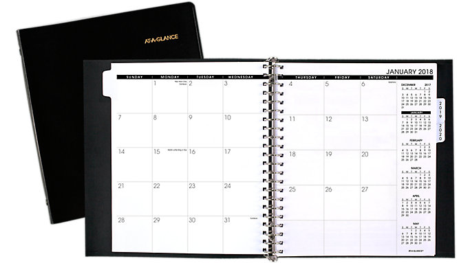 AT-A-GLANCE 3-Year Monthly Planner  (70236)