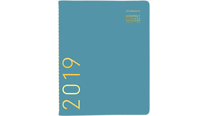 AT-A-GLANCE Contemporary Monthly Planner  (70250X)