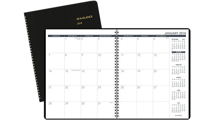 AT-A-GLANCE Monthly Planner  (70260)