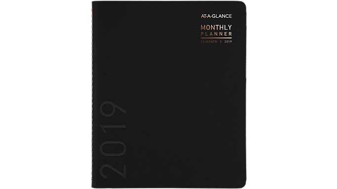 AT-A-GLANCE Contempo Monthly Planner  (70260X)